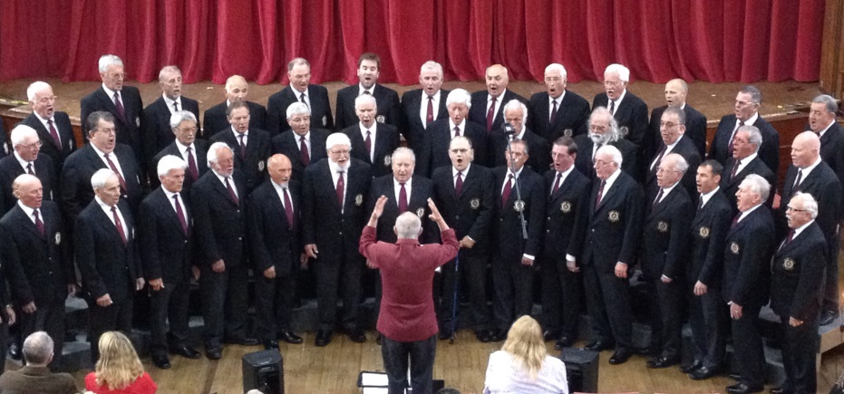 PRESENTING THE HOLMAN-CLIMAX MALE VOICE CHOIR