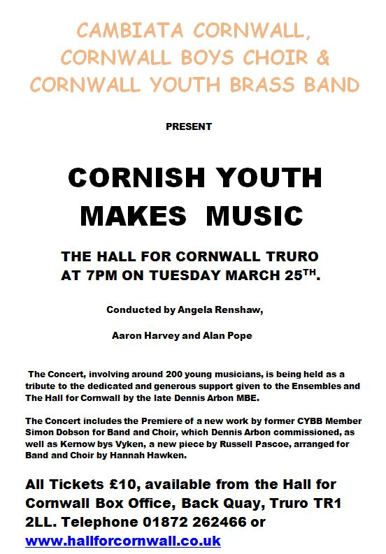 Cornish Youth Makes Music